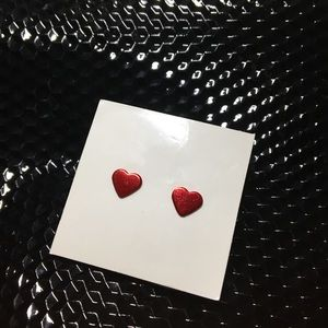 H&M Red Heart earring